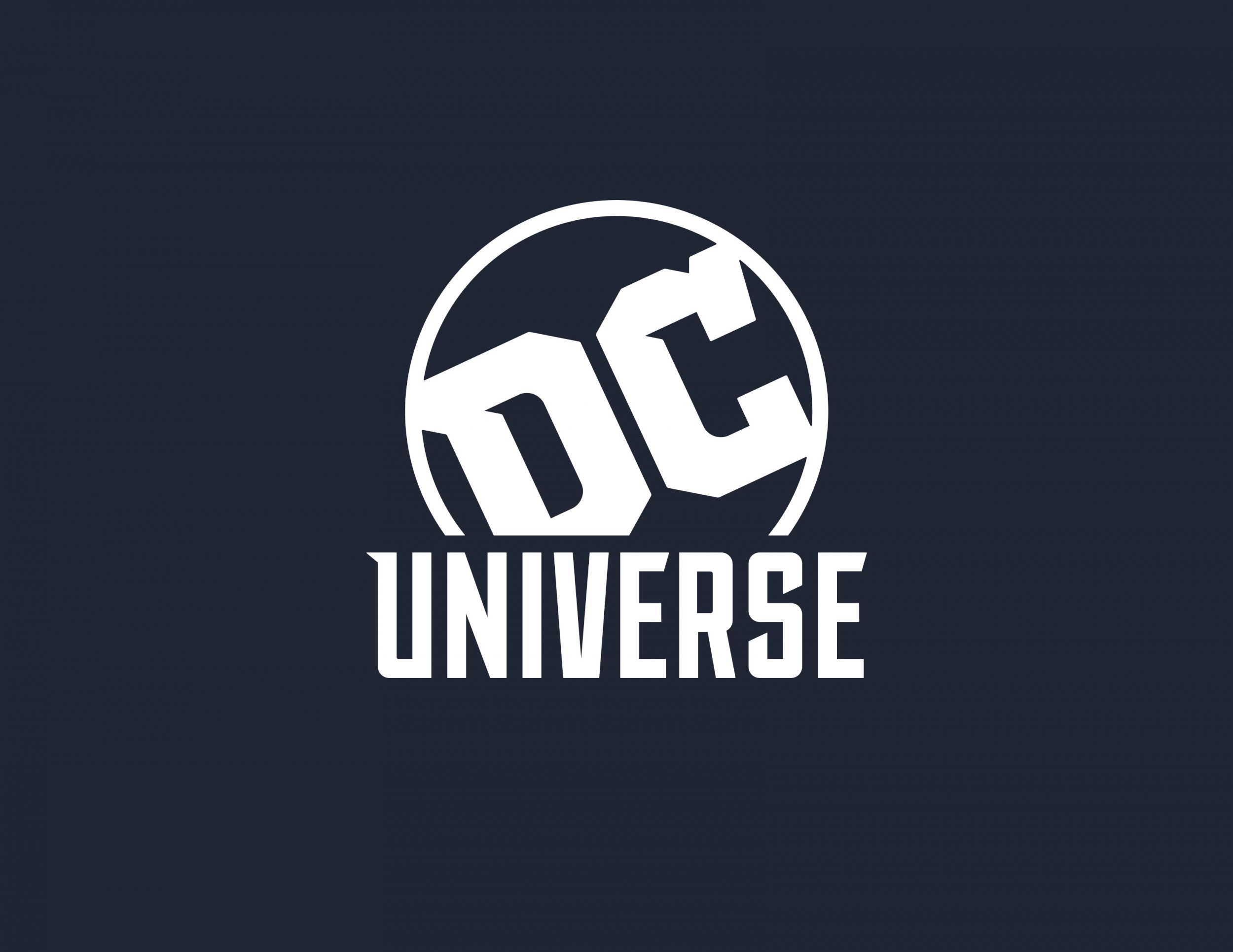 DC UNIVERSE LOGO streaming service beta