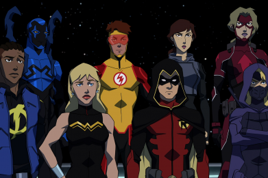 The Team…for now (Young Justice Ssn 3)