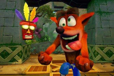 Crash bandicoot art
