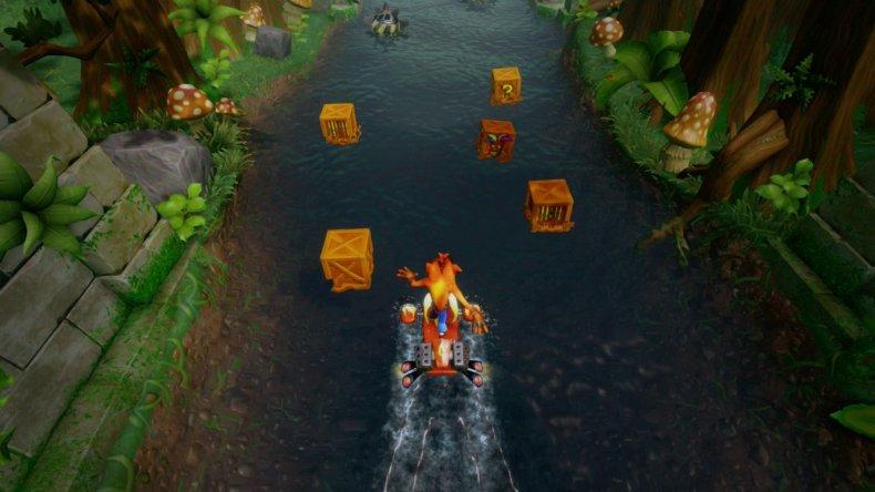 Crash Bandicoot Jetski