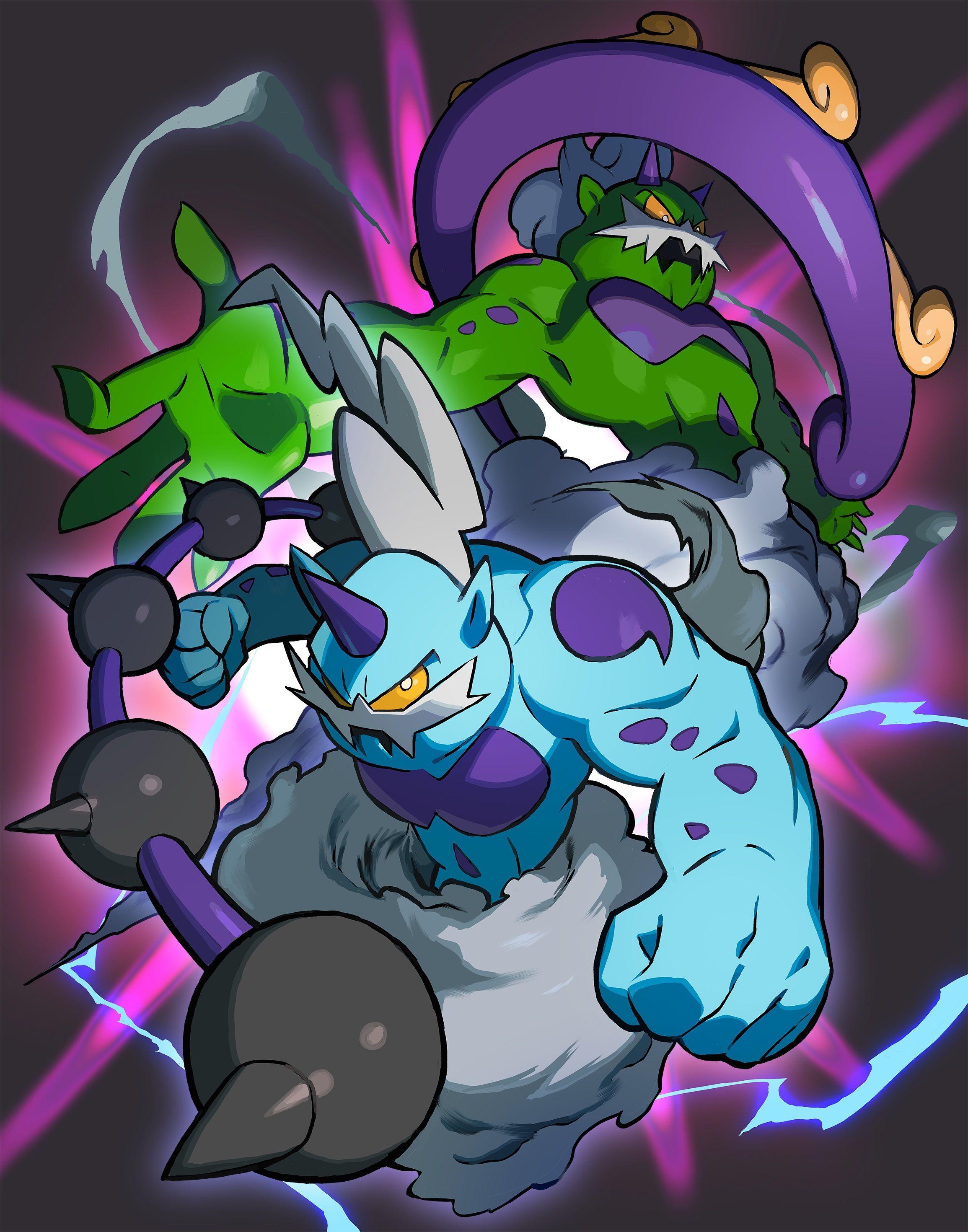 Thundurus and Tornadus pokemon