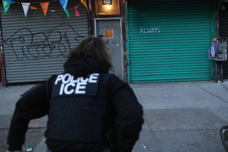ICE immigration, customs enforcement