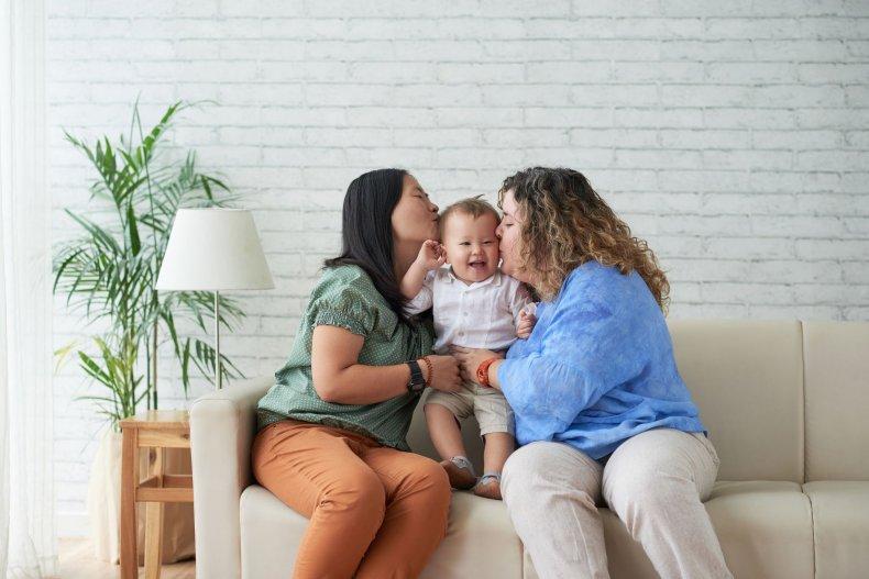 lesbian-couple-parents-stock