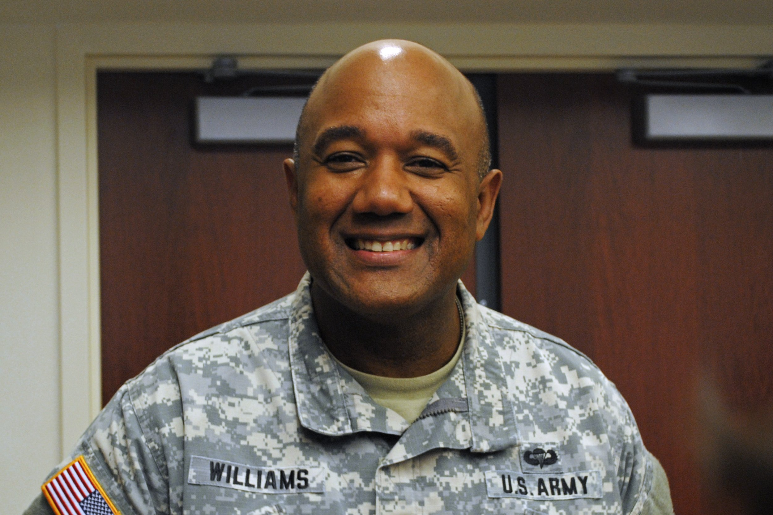 who is darryl a  williams  west point appoints first black