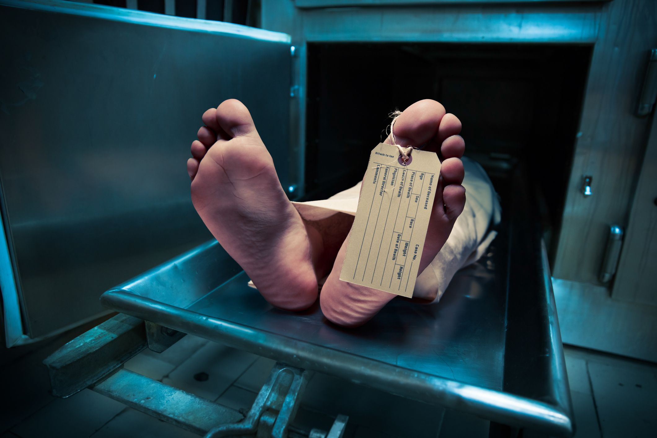 'Dead' woman comes back to life in morgue fridge