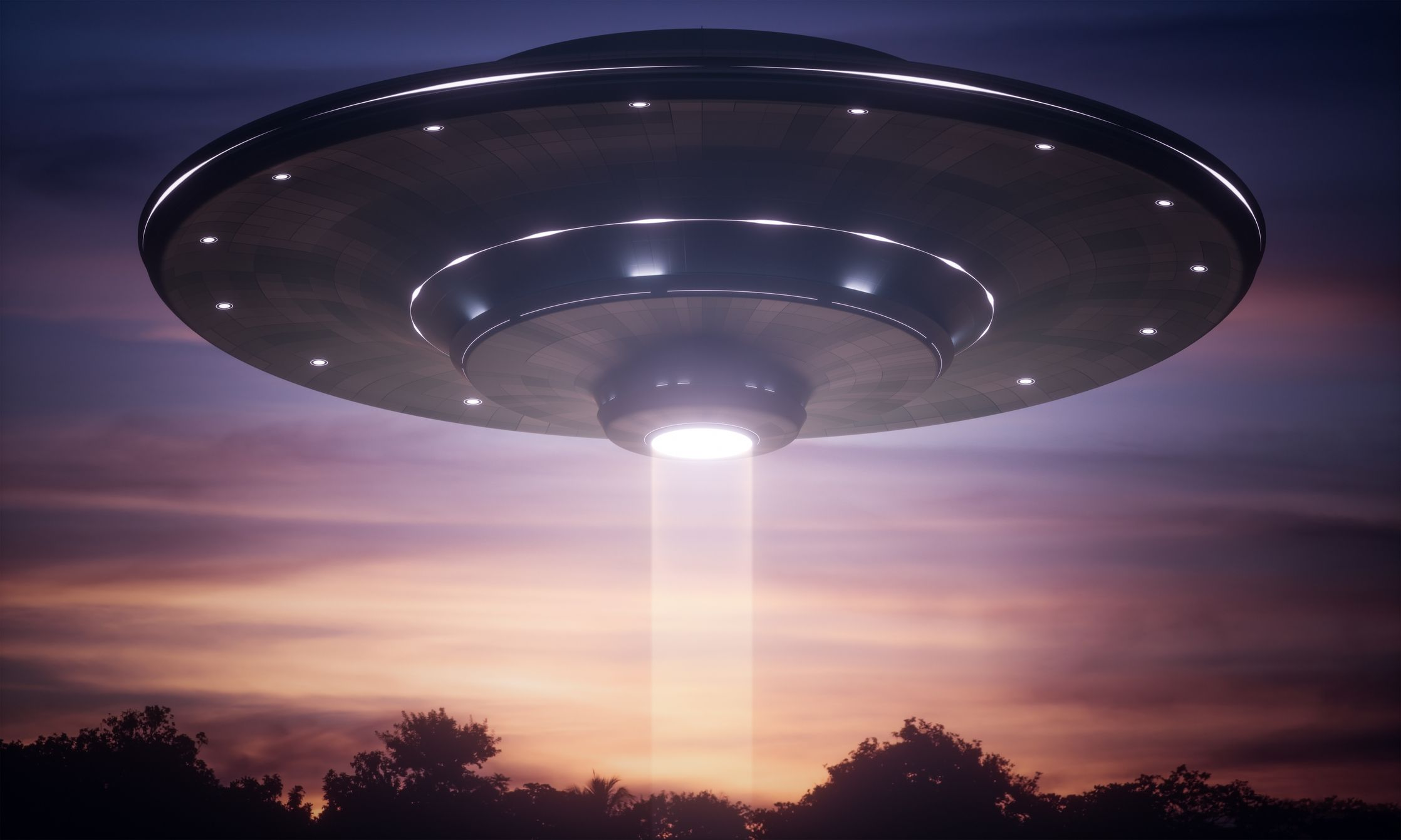 UFO VISITS USA, FRIENDLY THEY SAY.