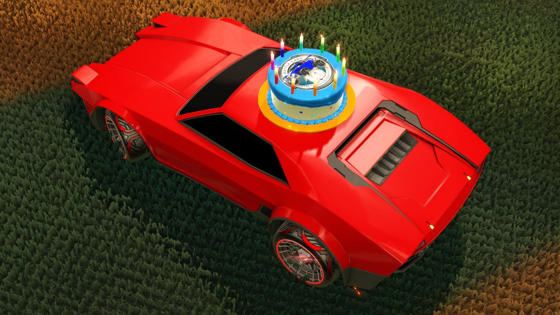 rocket-league-anniversary-cake-topper