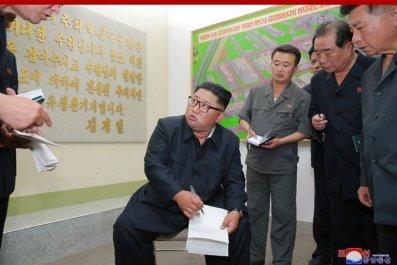 KimJongUnFactoryVisitNotebooks
