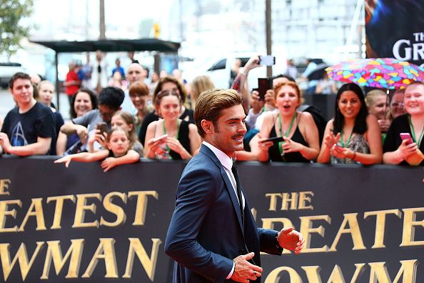 "Zac Efron at ""The Greatest Showman"" Premiere"