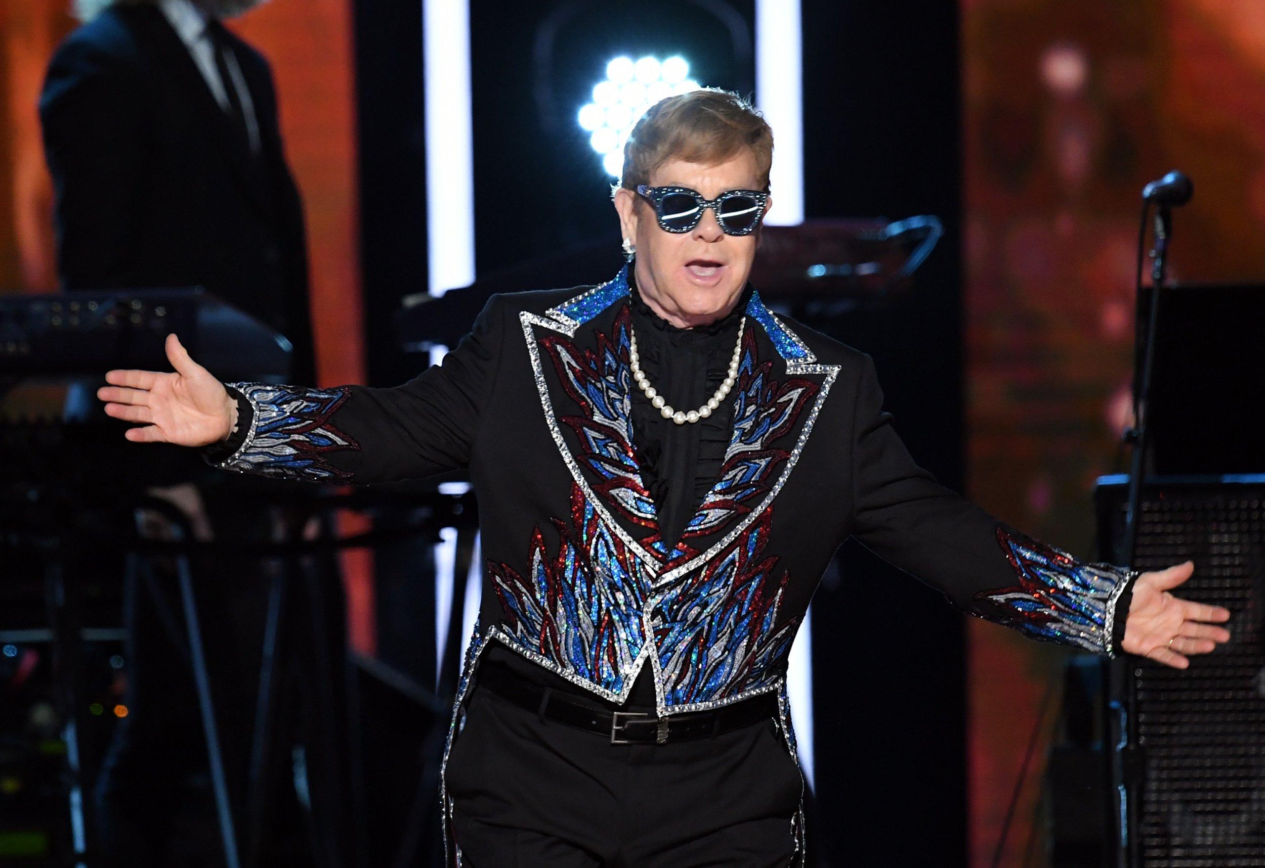 27 Elton John - Kevin Winter:Getty Images