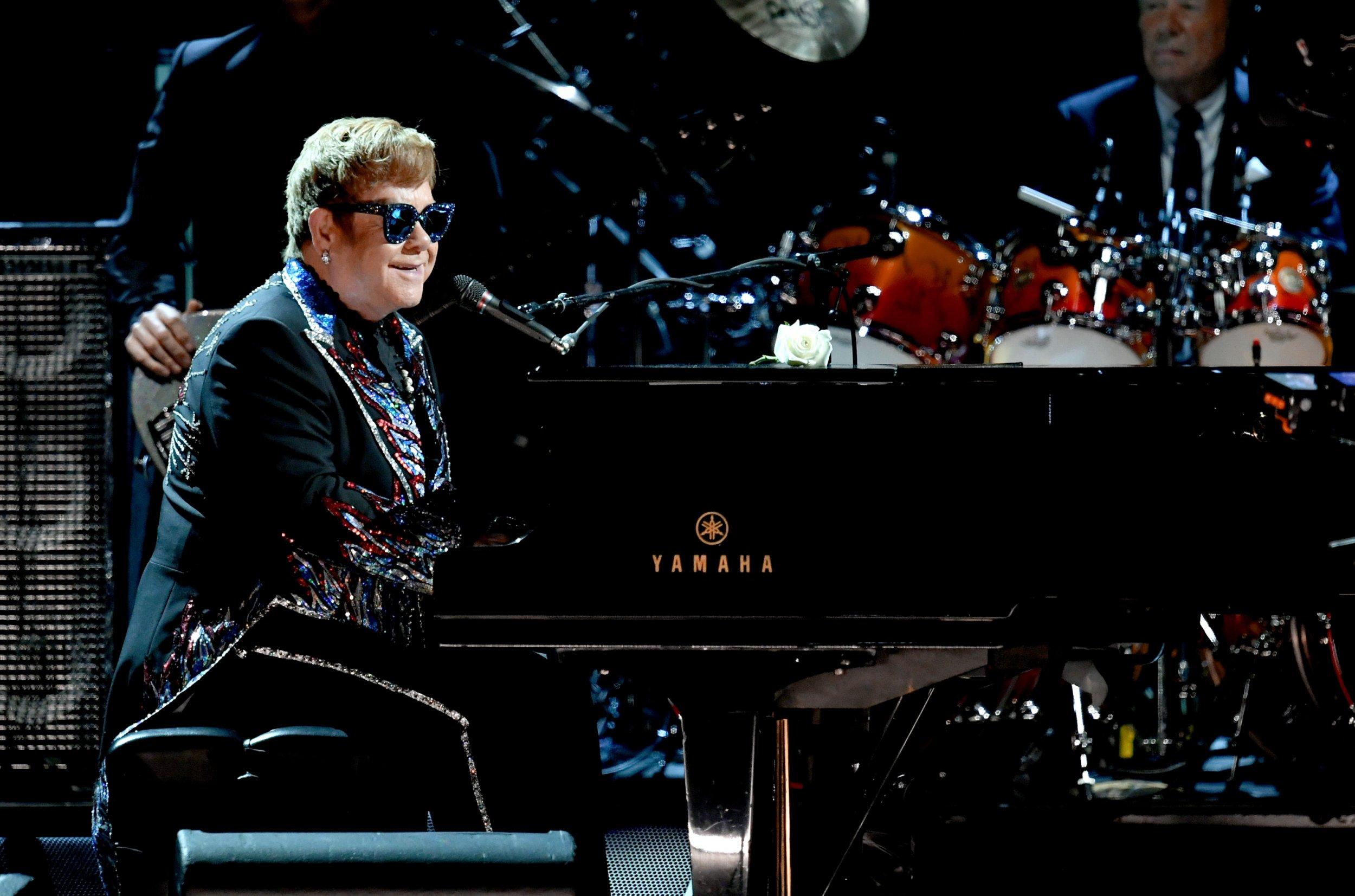 28 Elton John - Kevin Winter:Getty Images