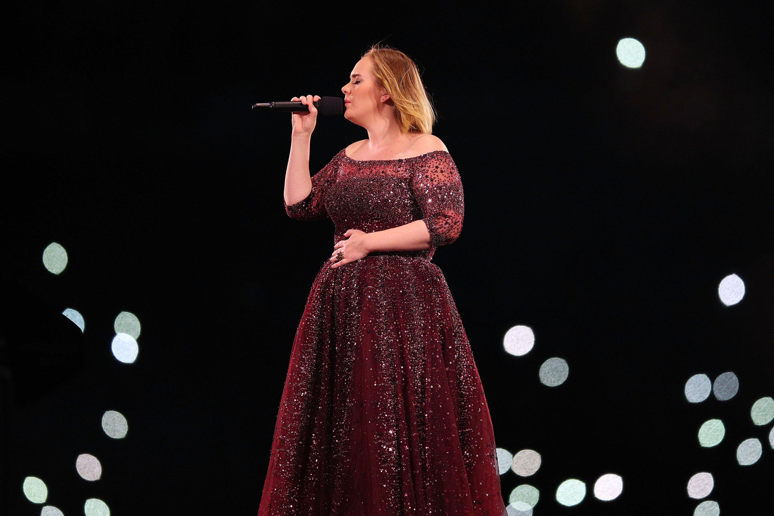 33 Adele - Graham Denholm:Getty Images