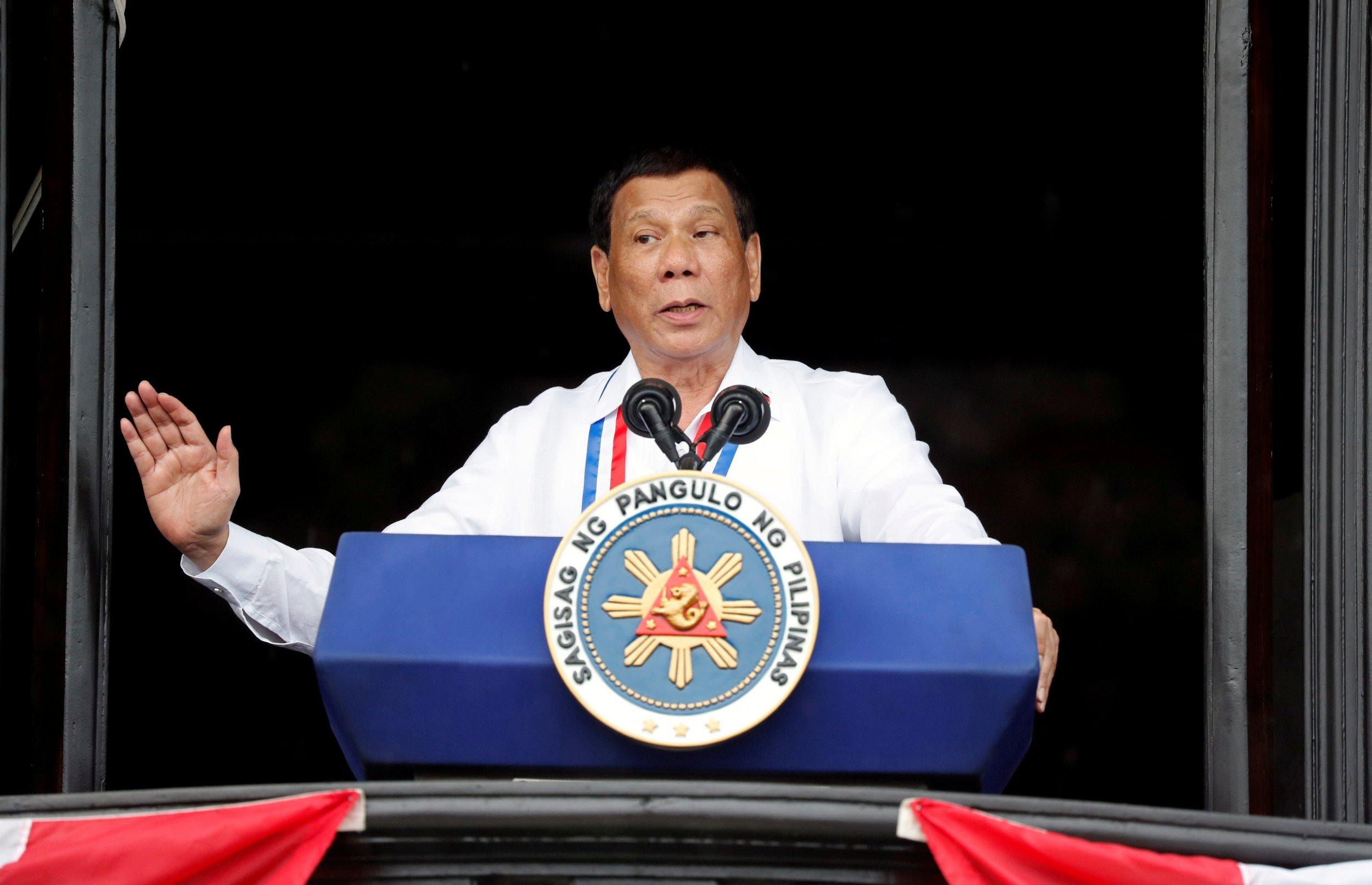 نتيجة بحث الصور عن The president of the Philippines