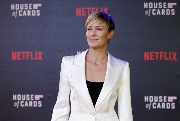 Robin Wright on Kevin Spacey: 'I Didn't Know the Man'