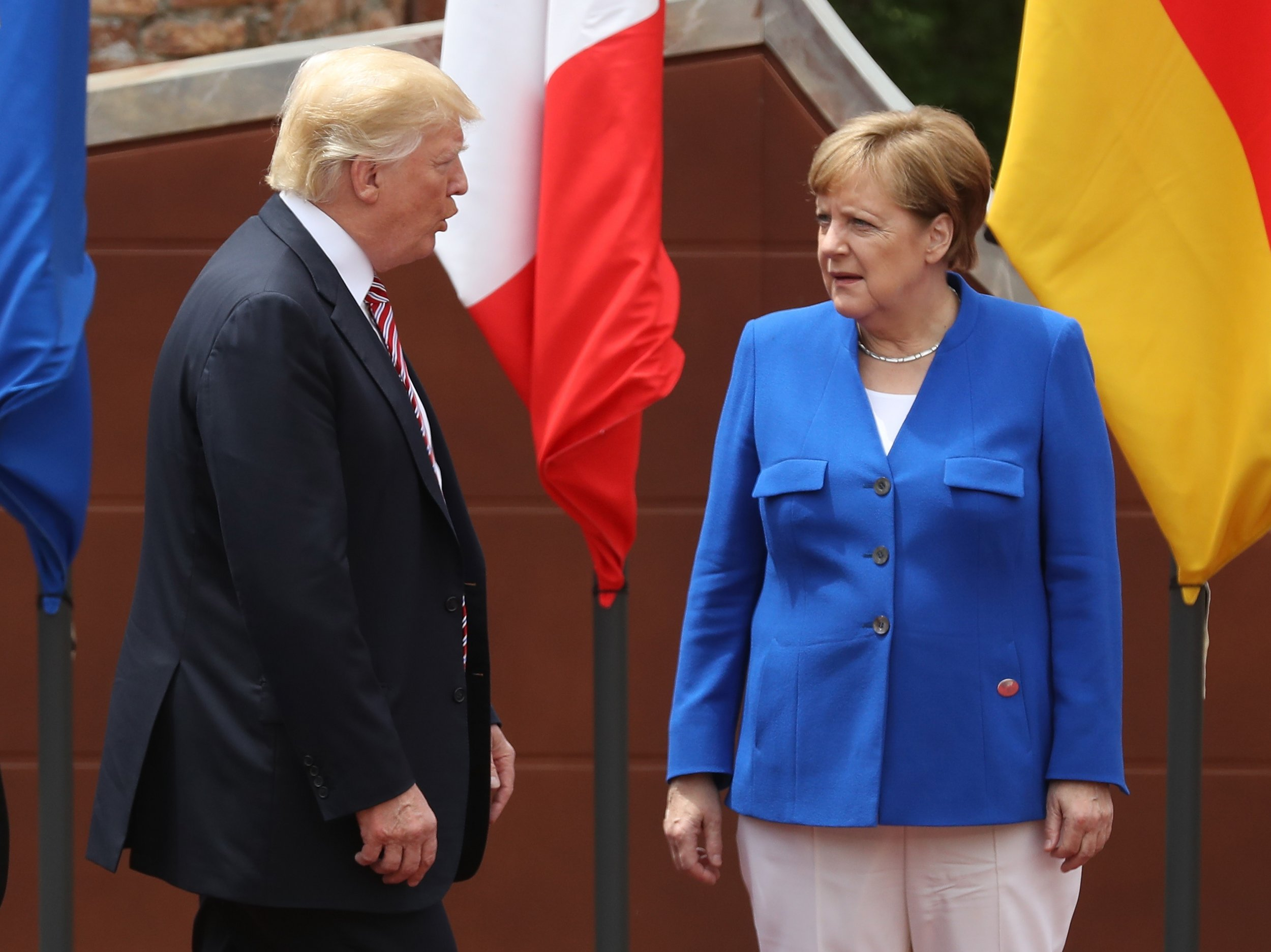 "Trump told Angela Merkel, ""You owe me one trillion dollars,"" in their very first meeting: Report"