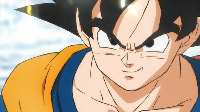 dragon ball super movie poster confirmed villain broody leak San Diego comic con trailer
