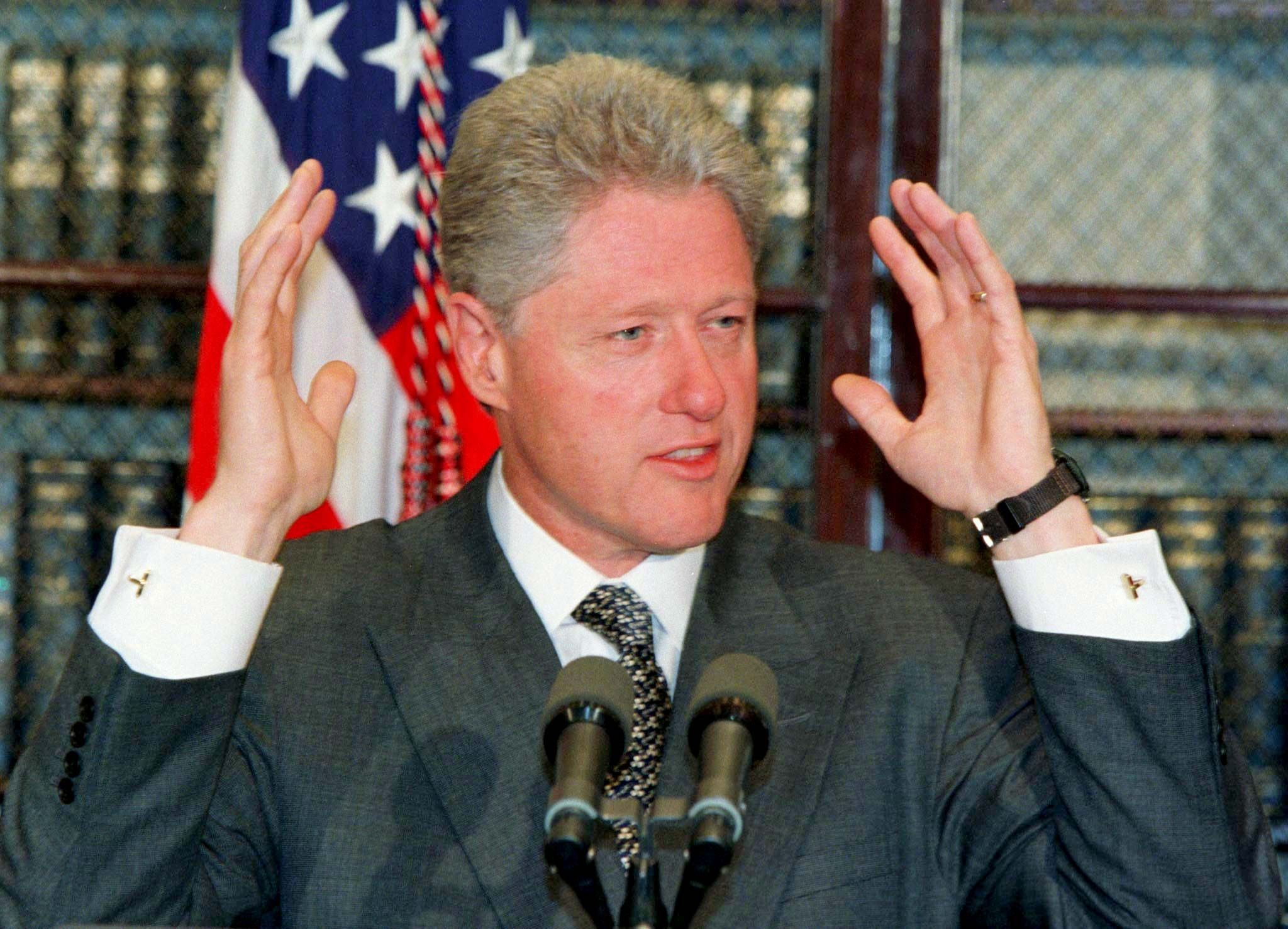 Bill Clinton 1998