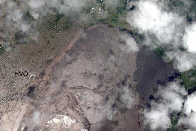 caldera aerial