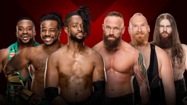 new day vs sanity extreme rules 2018