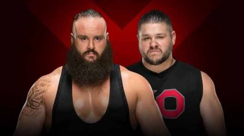 braun strowman vs kevin owens extreme rules 2018