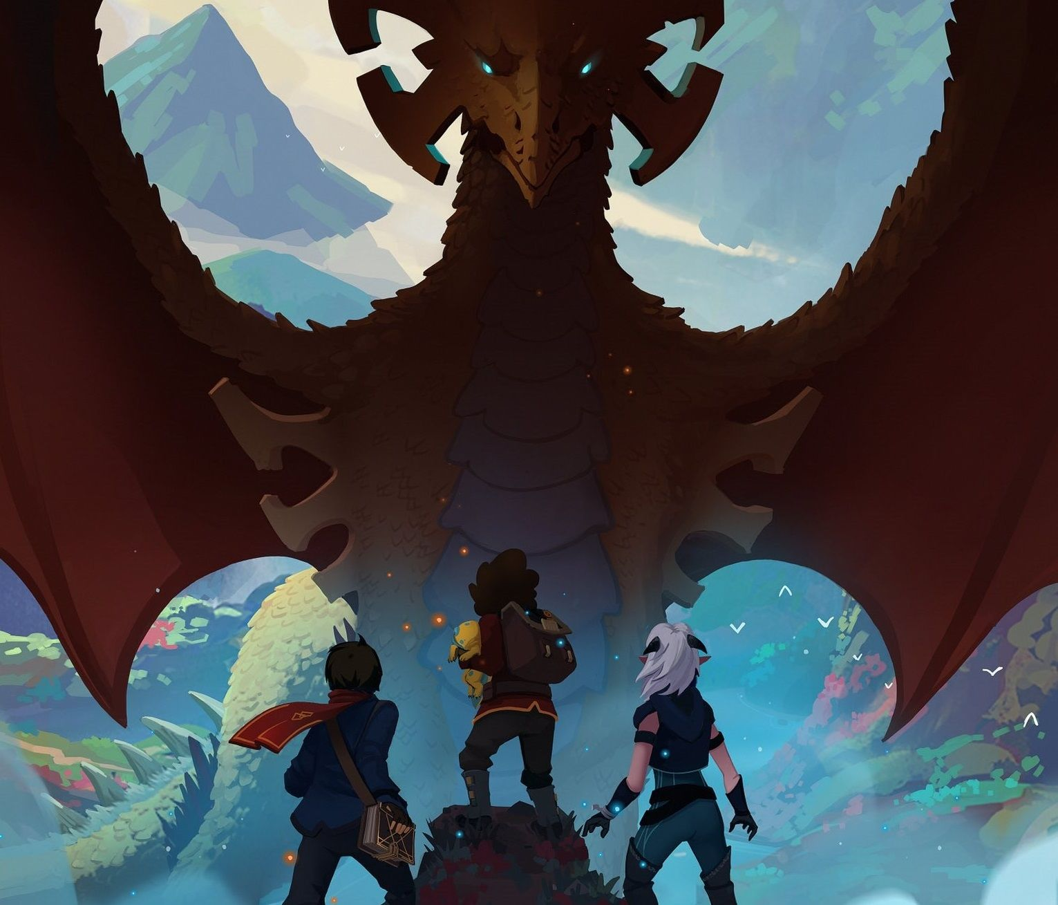 Netflix Original Series 'The Dragon Prince' Takes Talent