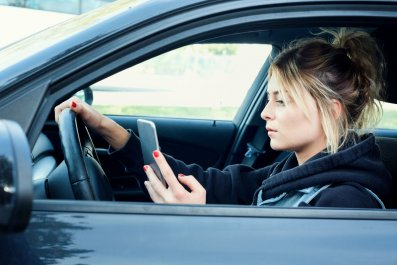 car-cell-phone-stock