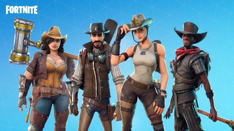 Fortnite Wild West Heroes