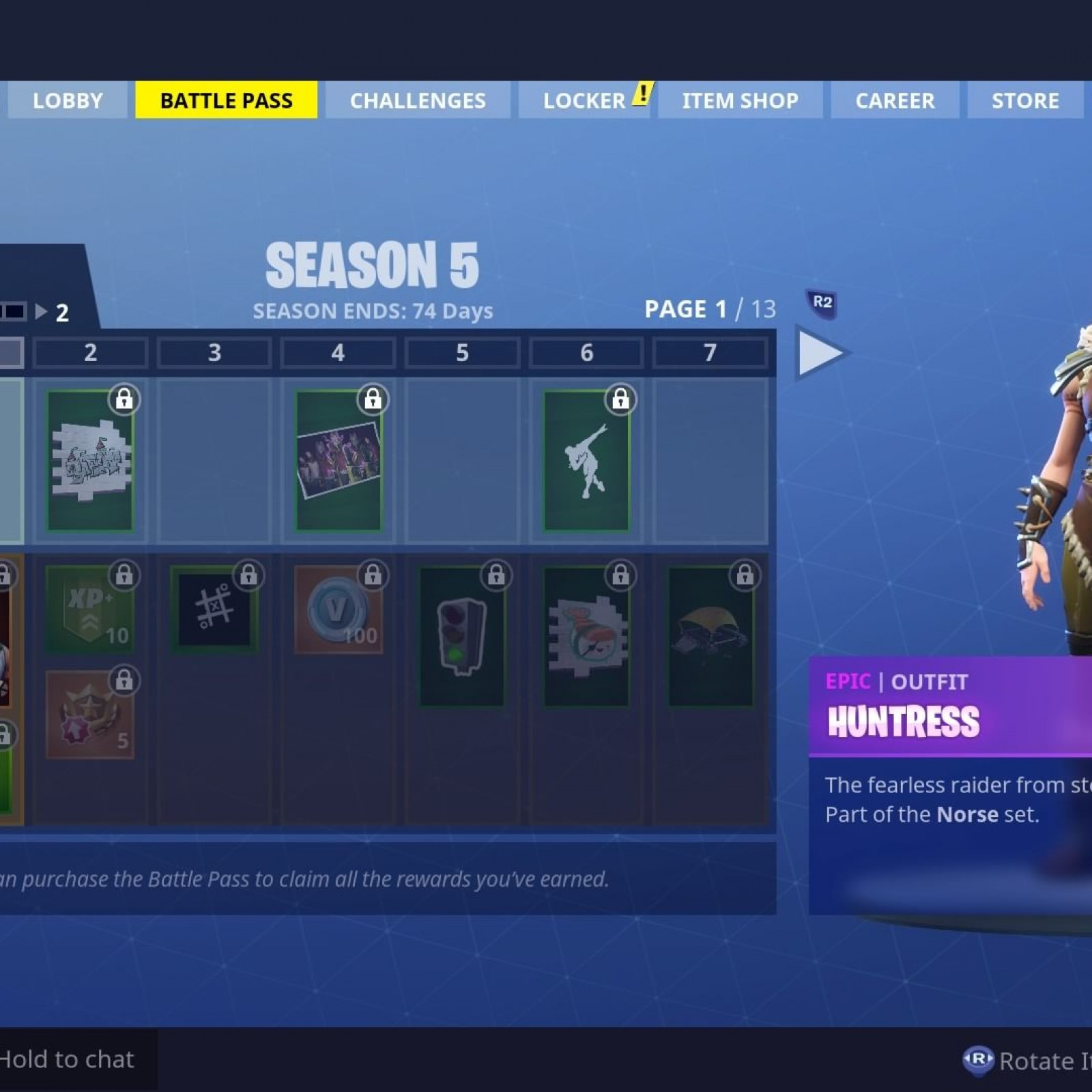 Fortnite Season 5 Battle Pass Skins Revealed Drift Ragnarok More