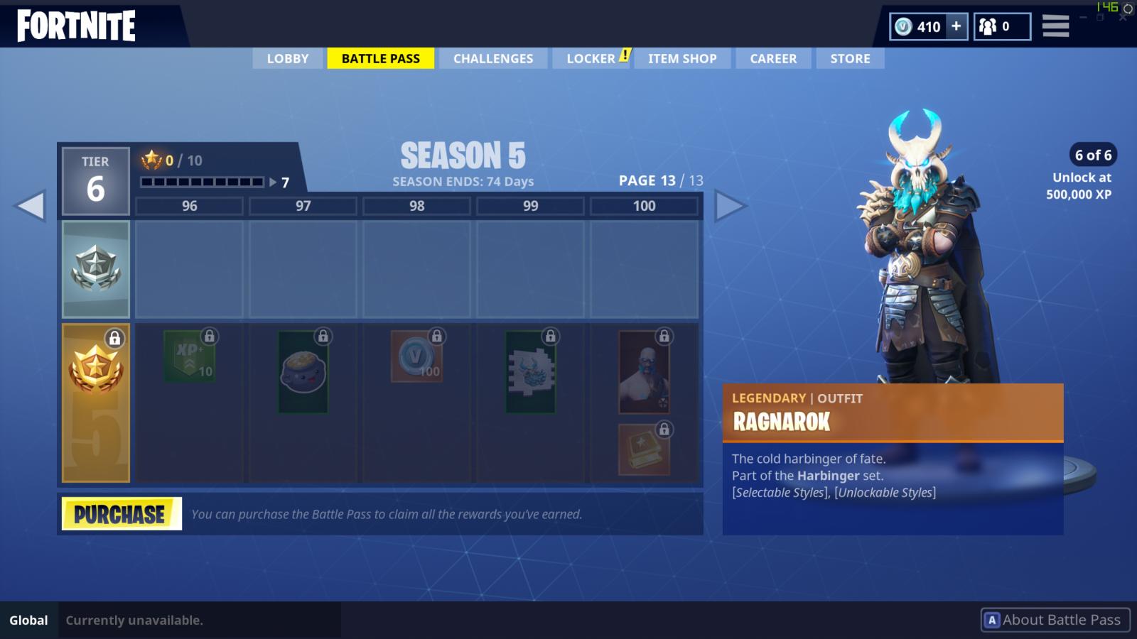 New Season 5 Tier 100 Skin Unlocked Fortnite Battle Royale
