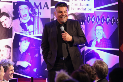 George Lopez Pretends to Urinate on President Donald Trump's Hollywood Star