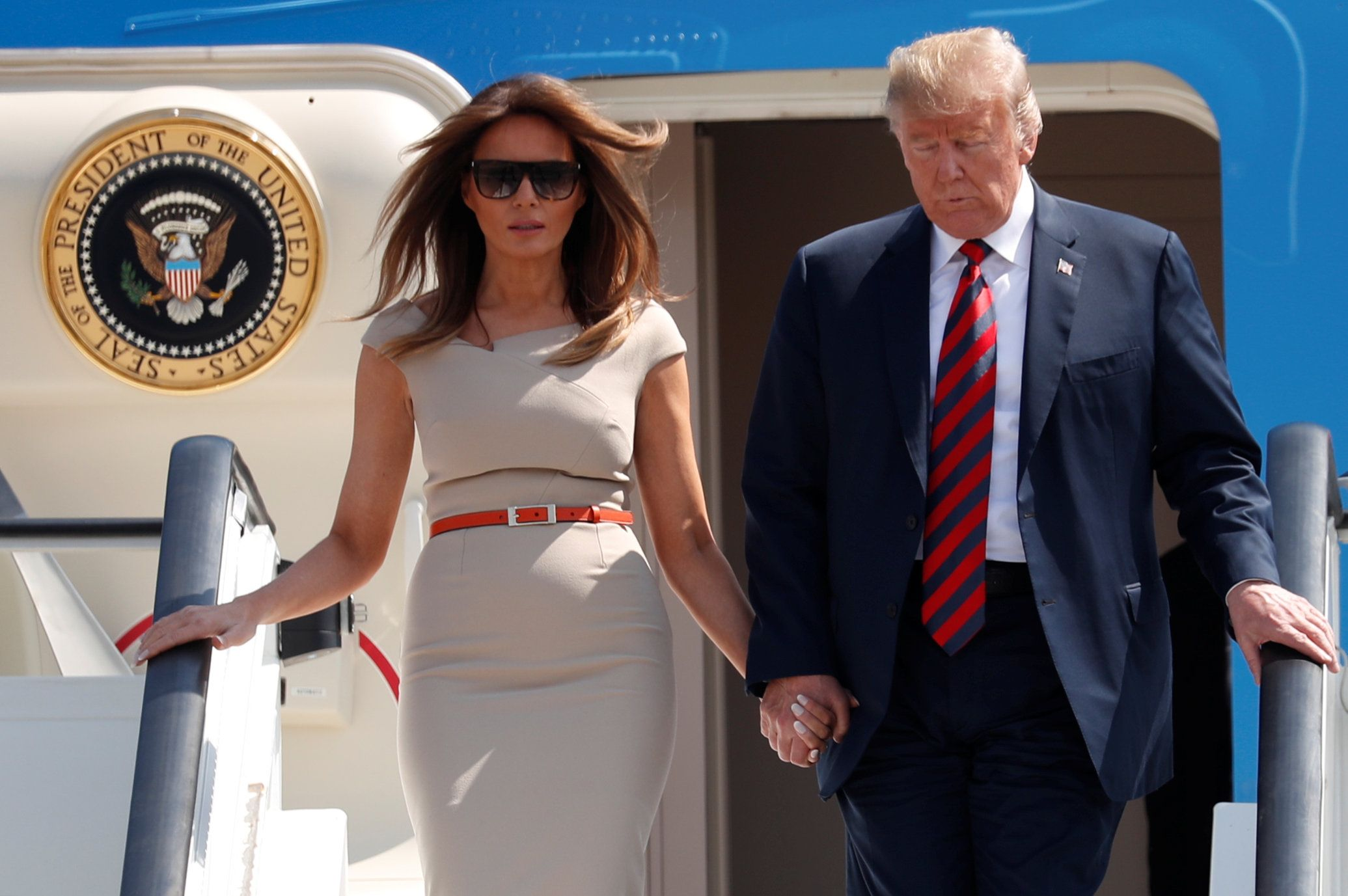 2018-07-12T133109Z_2108279340_RC191639EAC0_RTRMADP_3_USA-TRUMP-BRITAIN-ARRIVAL