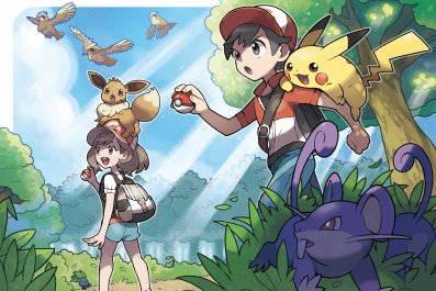 pokemon lets go pikachu eevee version exclusives key art