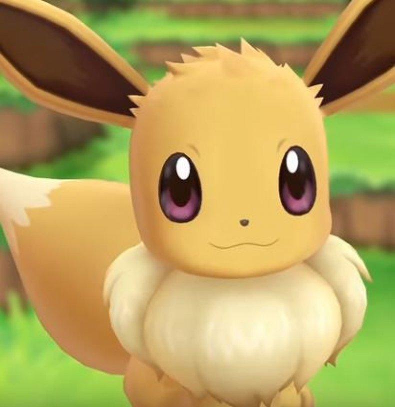 pokemon lets go eevee