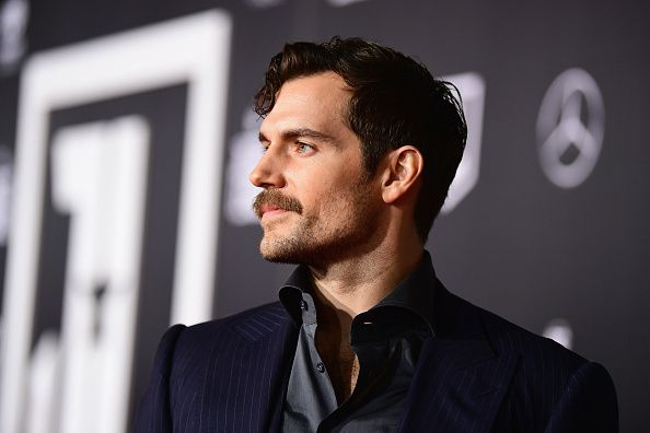 Henry Cavill at 'Justice League' Premiere