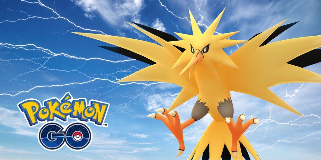 pokemon go zapdos community day event