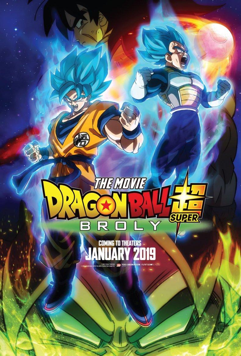 dragon ball super broly movie poster english