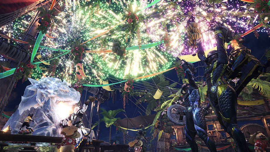 Monster hunter world twilight summer festival start time quests