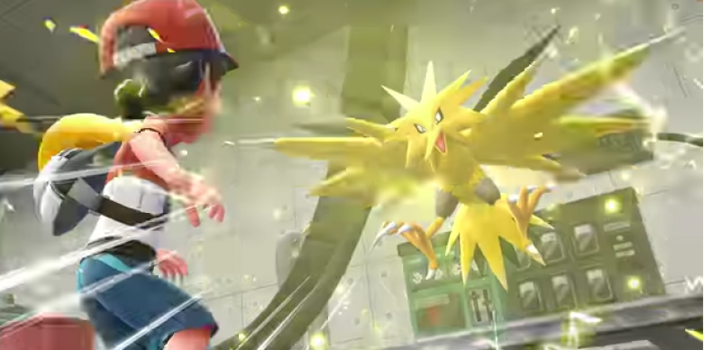 pokemon lets go pikachu eevee zapdos