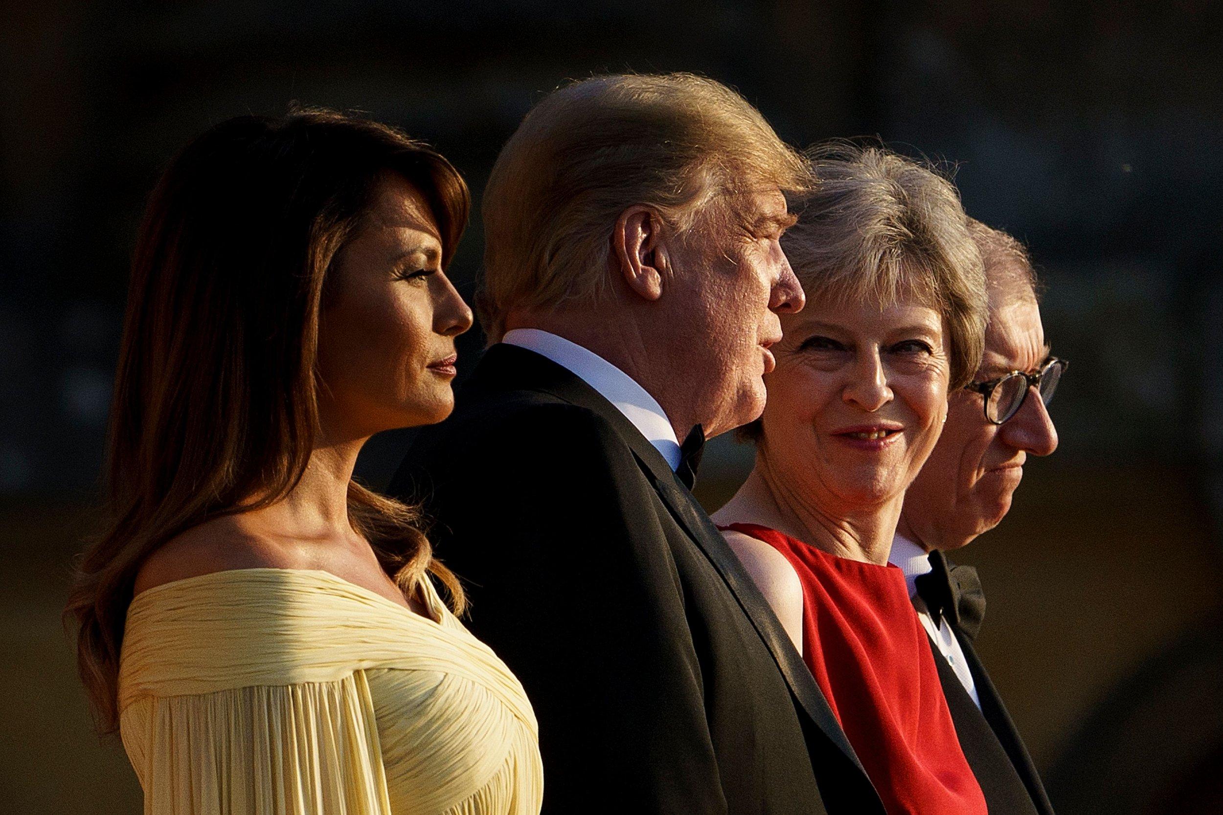 Trump For Boris President Tips Johnson For U K Prime