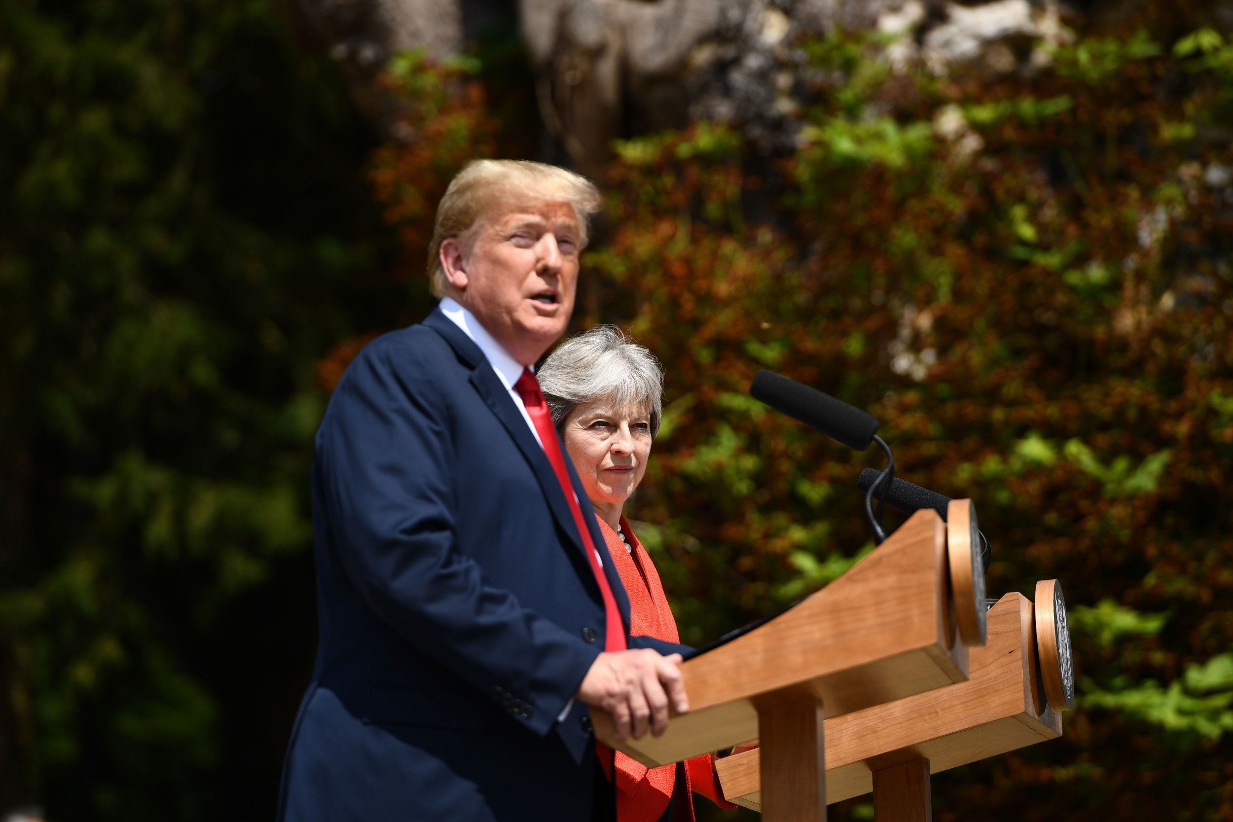 Trump May Chequers