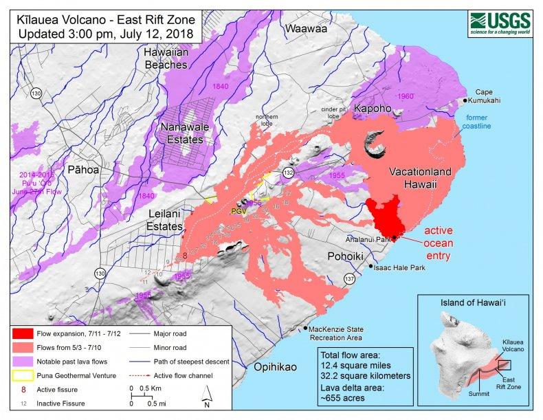 july 12 lava map