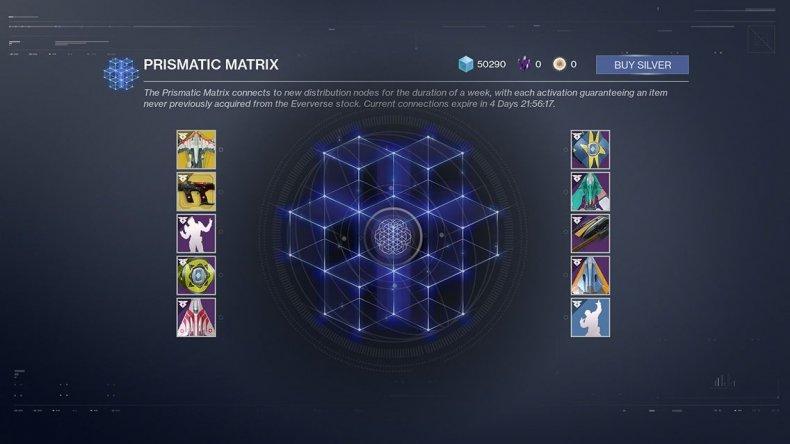 Destiny 2 Prismatic Matrix