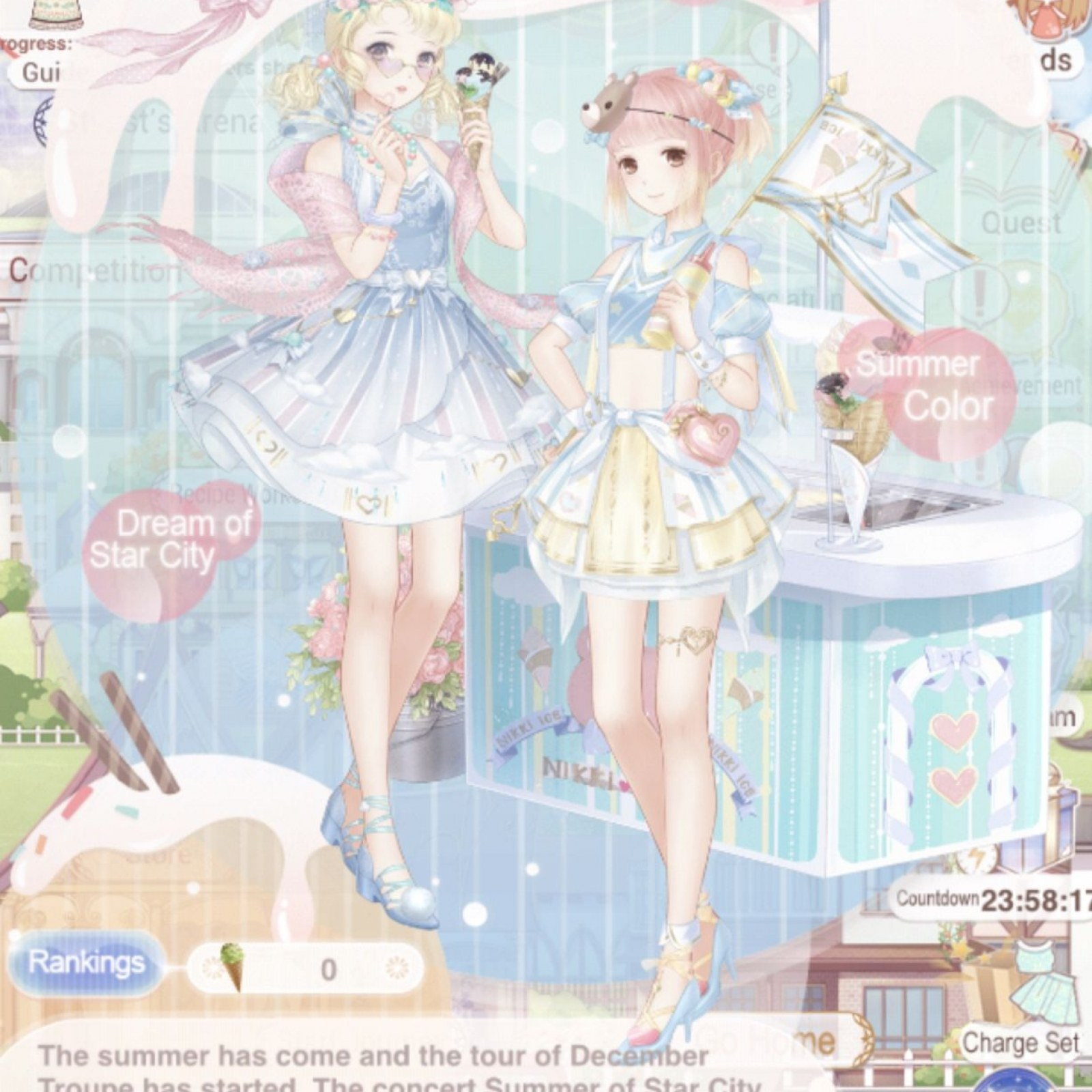 Love Nikki Christmas Reunion.Love Nikki Summer Color Event Guide Tips For Choosing The