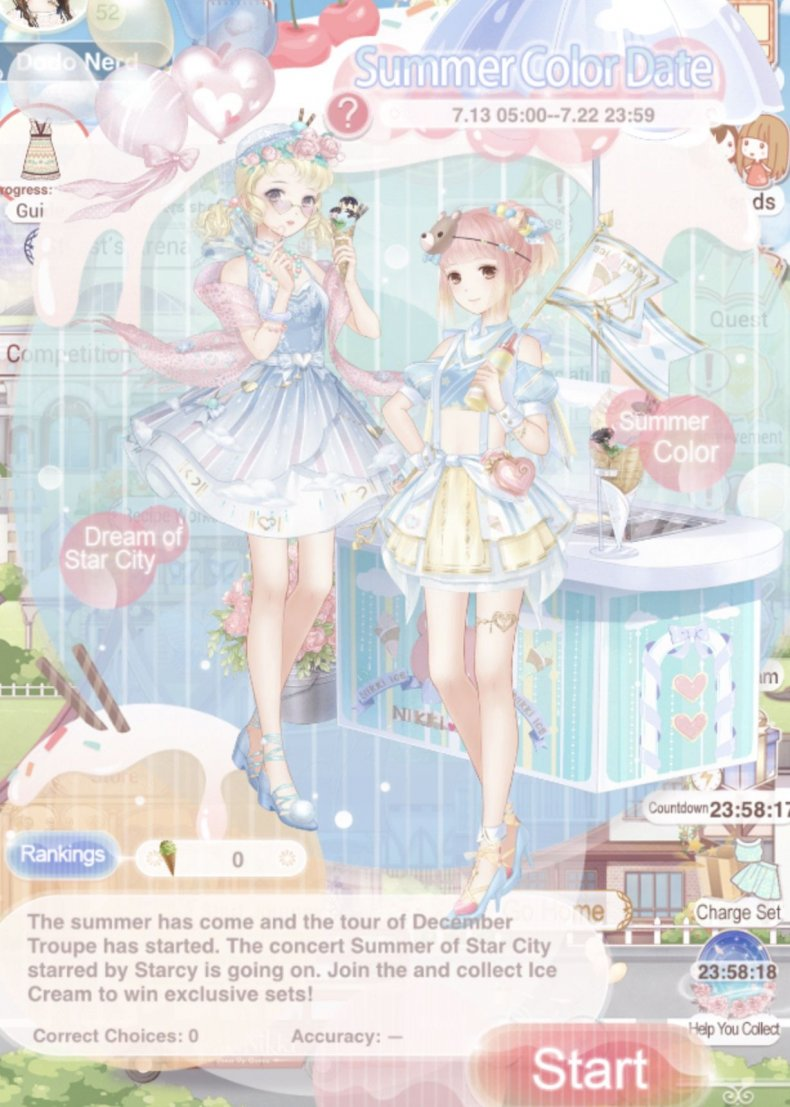 love, Nikki, summer, color, event, guide, tips, styling, battles, stages, best, outfit, cost, suits, diamonds