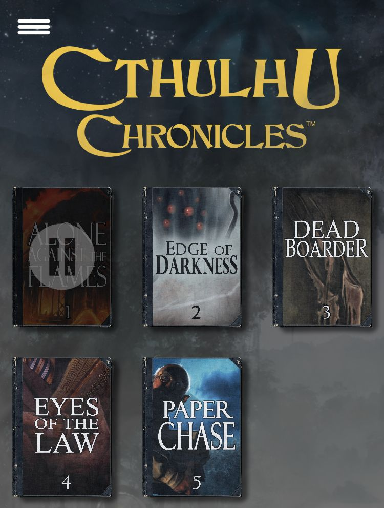 Cthulhu chronicles mobile rpg horror game best free games narrative fiction new choose your own adventure story