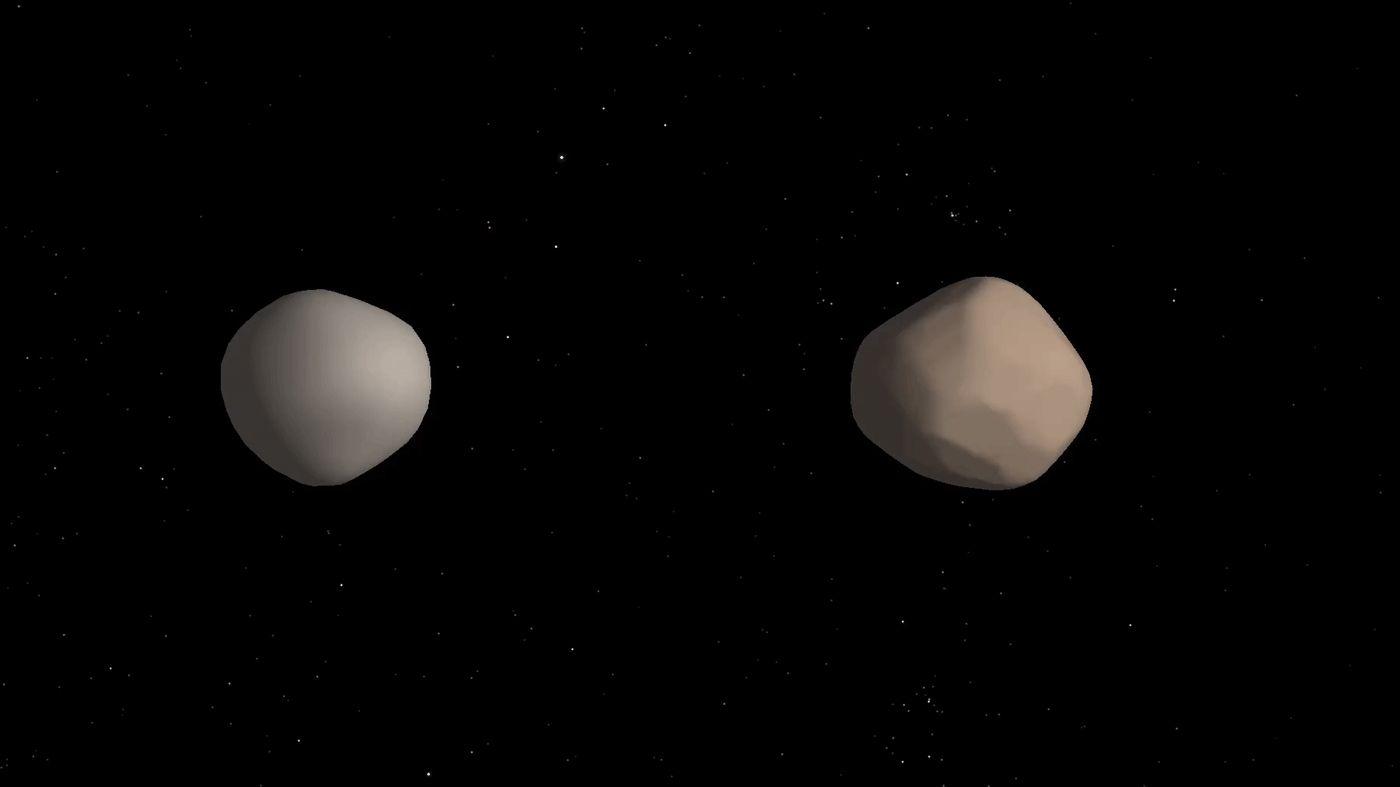 Dual Asteroids