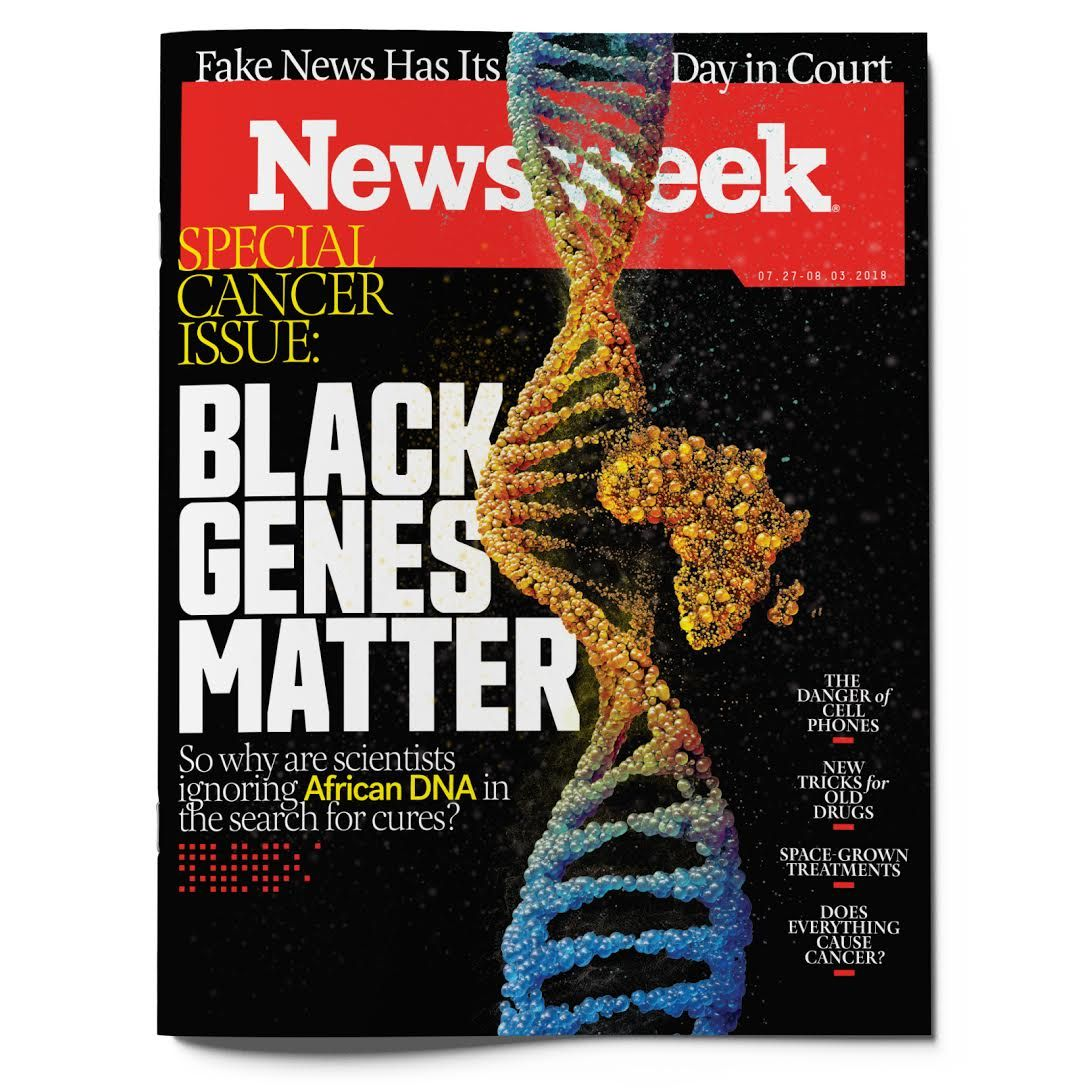 Cancer issue cover for feature Genome