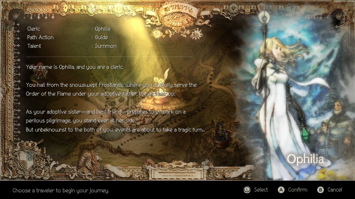 u2018octopath traveler u2019 character guide  ophilia the cleric