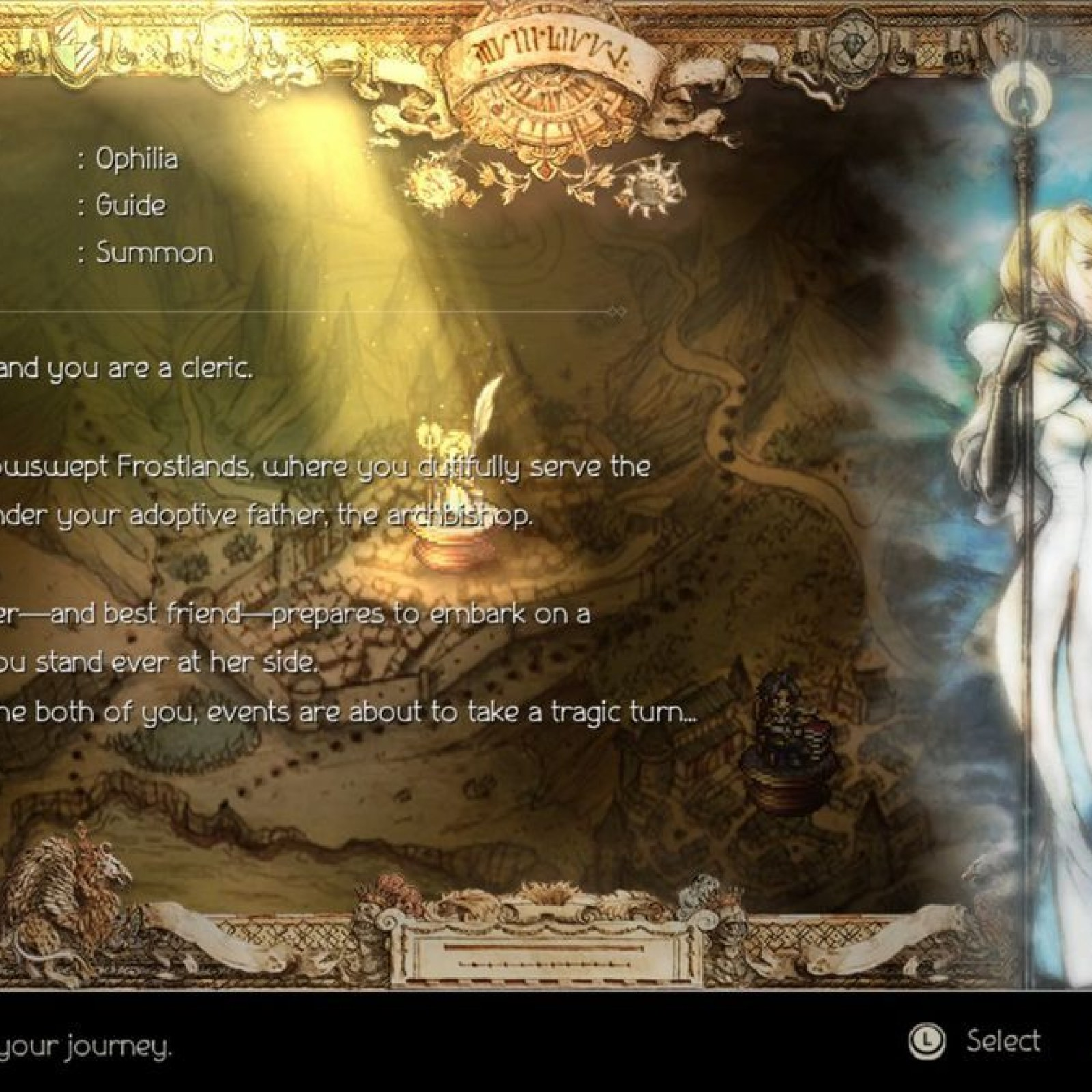 Octopath Traveler' Character Guide: Ophilia the Cleric