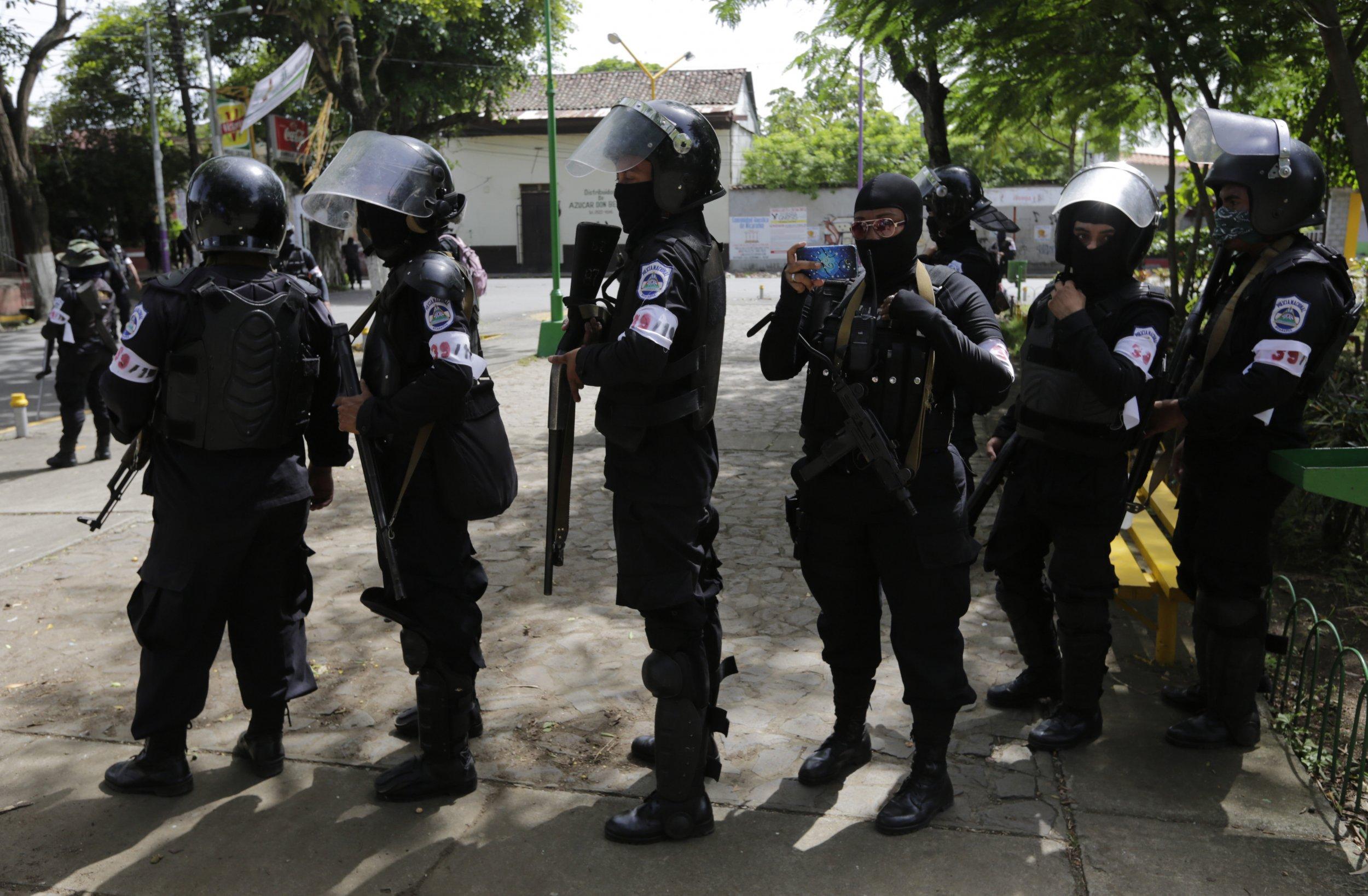 Nicaraguan Riot Police
